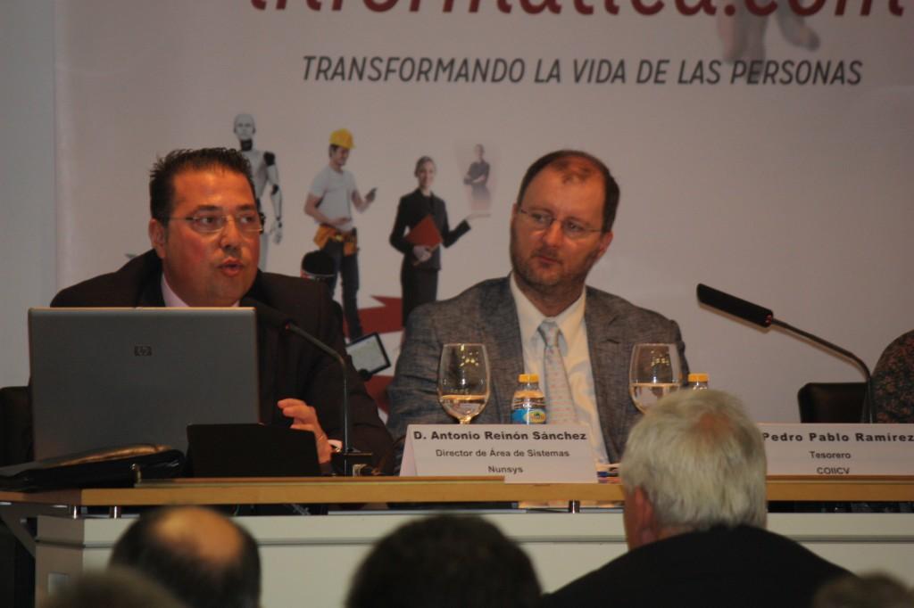 Antonio Reinón Nunsys en Semana Informática