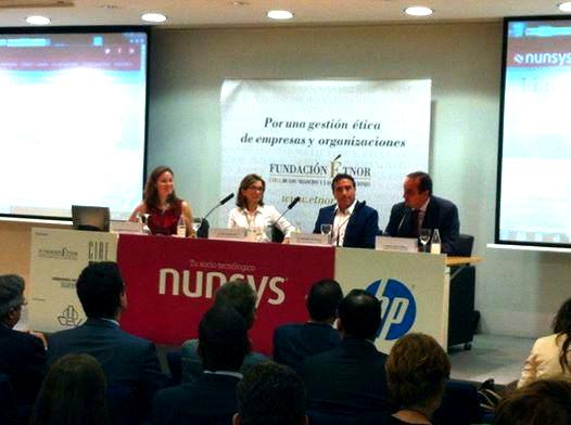 etnor evento Resumen del I Encuentro Empresarial de Ética y RSE de Valencia