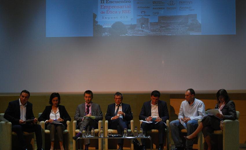Foto evento 2 opt Más de 150 personas participan en el II Encuentro Empresarial de Ética y RSE Sagunt015