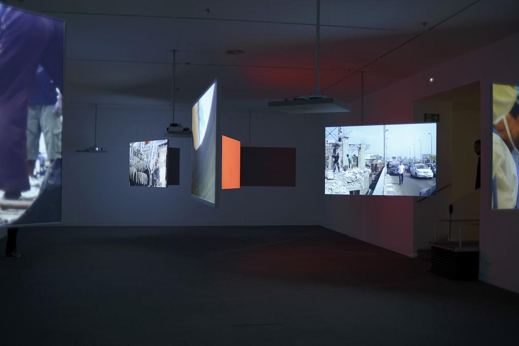 Foto6 Proyecto de Audiovisuales Nunsys en la Fundación Antoni Tapies: Exposición Harun Rarocki