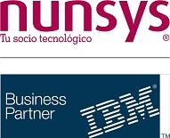 Logo de Patrocinio y ponencia de IBM & NUNSYS en ISACA