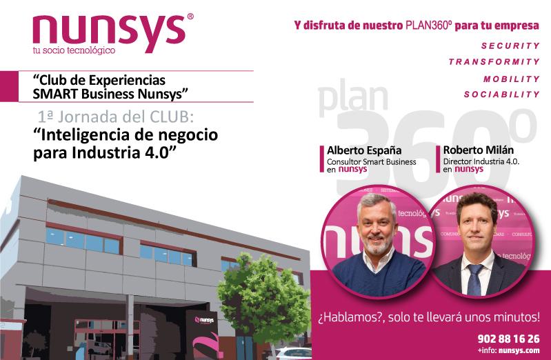 Imagen el la Jornada 1 del Club de Experiencias SMART Business de Nunsys