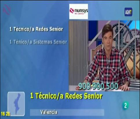 """""""Inserción TV2 - Aquí hay Trabajo"""""""