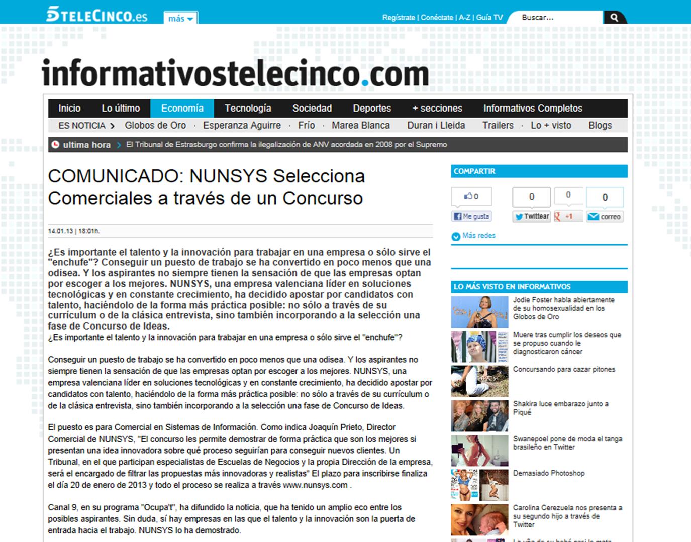 """""""NUNSYS Concurso de ideas"""""""