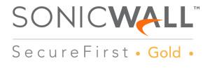 Logo de Partner Gold de Sonicwall (Nunsys)